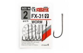 Крючок Fanatik WORM FX-31 №2 thumb