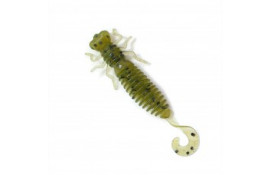 Силиконовая приманка Fanatik Larva LUX 3,5 дюйма цвет 001 thumb