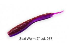 """Приманка ATTACK SEXI WORM 2"""" цвет #037 (10 ШТ/УПАК) thumb"""