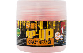 Бойлы Brain Pop-Up F1 Crazy orange (апельсин) 10 mm 20 g thumb