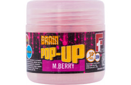 Бойлы Brain Pop-Up F1 M.Berry (шелковица) 10mm 20g thumb