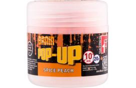 Бойлы Brain Pop-Up F1 Spice Peach (персик/специи) 10 mm 20 g thumb