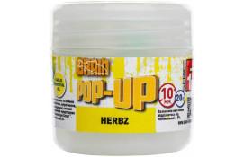 Бойлы Brain Pop-Up F1 HERBZ (мята с чесноком) 10 mm 20 g thumb