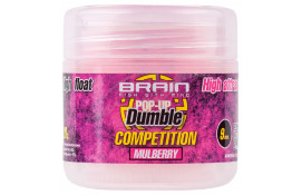 Бойлы Brain Dumble Pop-Up Competition Mulberry 9mm 20g thumb