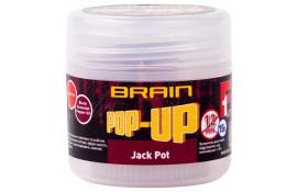 Бойлы Brain Pop-Up F1 Jack Pot (копченая колбаса) 12mm 15g thumb