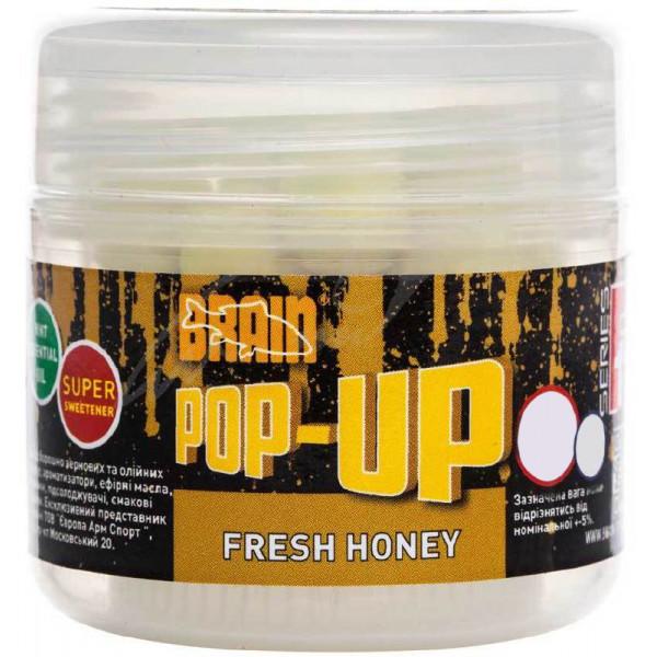Бойлы Brain Pop-Up F1 Fresh Honey (мёд с мятой) 14mm 15g