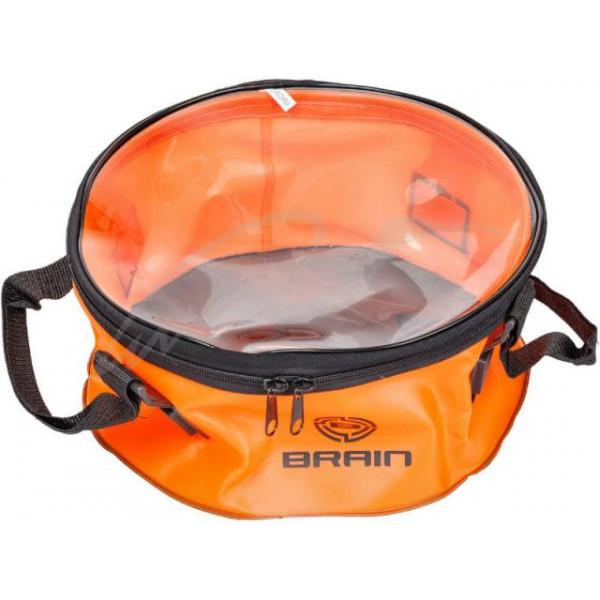 Ведро Brain EVA для прикормки 30х13cm с крышкой