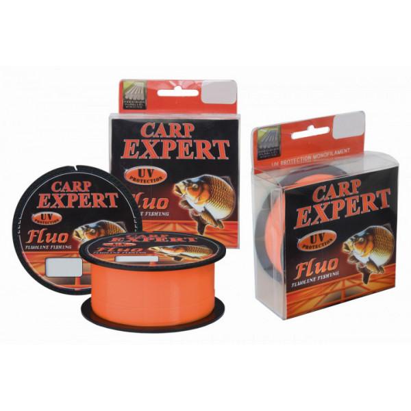 Леска  Carp Expert UV Fluo Orange 300m 0.25mm 8.9kg