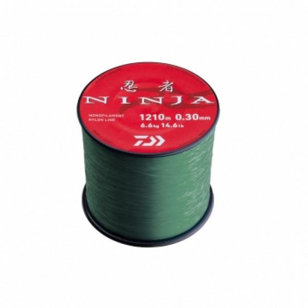Леска Daiwa Ninja X Line Green 0,30mm 6.6kg 1210m