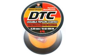 Леска Moncross DTC 600m BRIGHT ORANGE COL 0,30mm/No.4,0 thumb