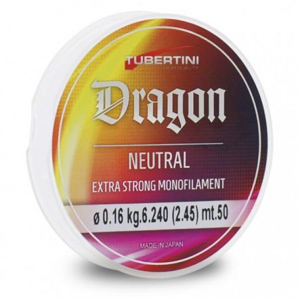Леска Tubertini Dragon Neutral 50m 0,14/3.9 кг  1