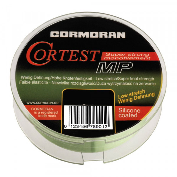 Леска Cormoran Cortest-MP 150m 0,25mm  light green/5.8 кг