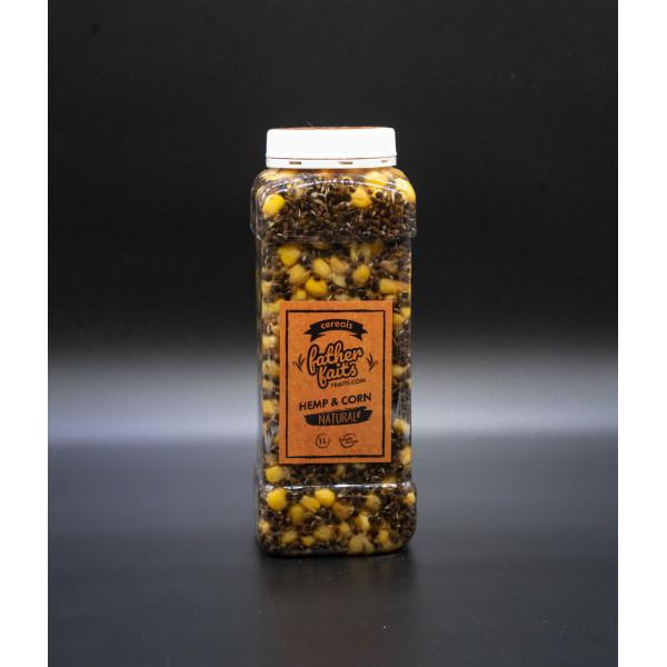 Зерновая смесь Father Baits конопля+кукуруза 1 л.