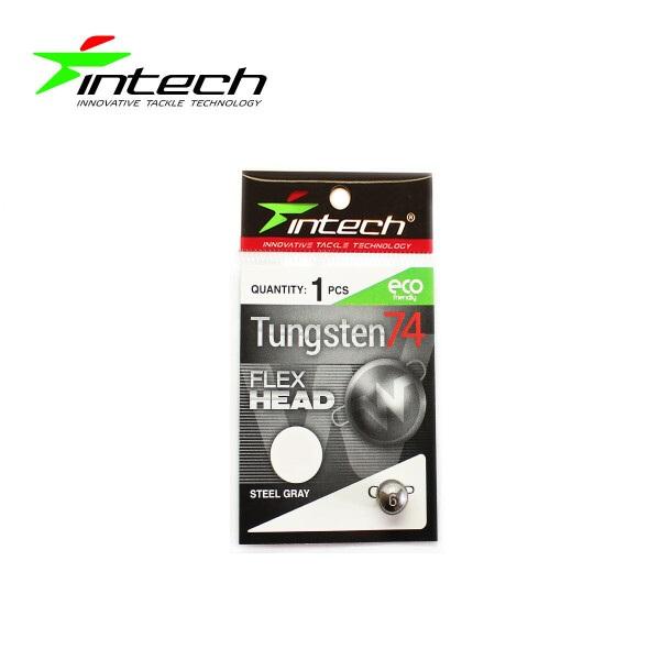 Разборной груз Intech Tungsten 74 Stell Gray (1.7g (3шт))