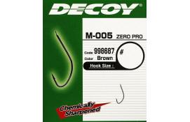 Крючок фидерный Decoy M-005 ZERO-PRO 12, 18 шт/уп thumb