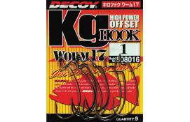 Крючок спиннинговый Decoy Worm17 Kg Hook 06, 9 шт/уп thumb