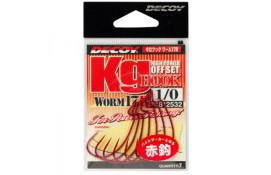 Крючок спиннинговый Decoy Worm17R Kg Hook R 4/0, 5 шт/уп thumb