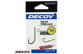 Крючок спиннинговый Decoy KR-28 Fine mini 10, 18 шт/уп thumb