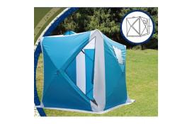 Зимняя палатка куб LANYU 1939 (180х180х195) blue  thumb