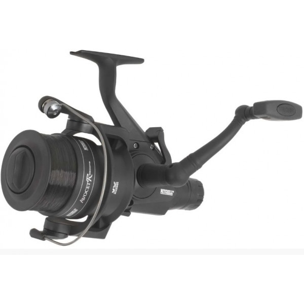 Катушка Mitchell REEL AVCET FS5500R BLK EDITION WITH LINE (5,1: 1 / 458г / 3 ш.п. / 8 кг max drag / без доп. Шпули / с жилкой на шп.)