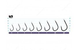 Одинарный фидерный крючок OWNER 50118-02 thumb