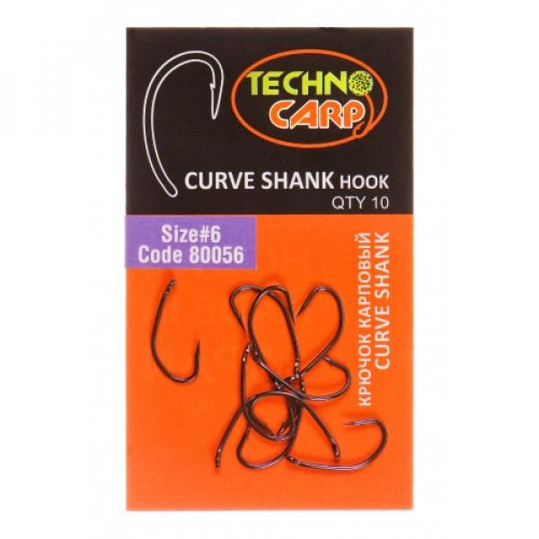 "Крючок карповый ""Curve Shank"" №2"