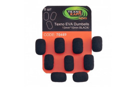 Texno EVA Dumbells 13mm*10mm black  thumb