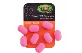 Texno EVA Dumbells 13mm*10mm pink thumb