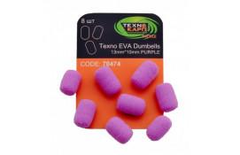 Texno EVA Dumbells 13mm*10mm purple thumb