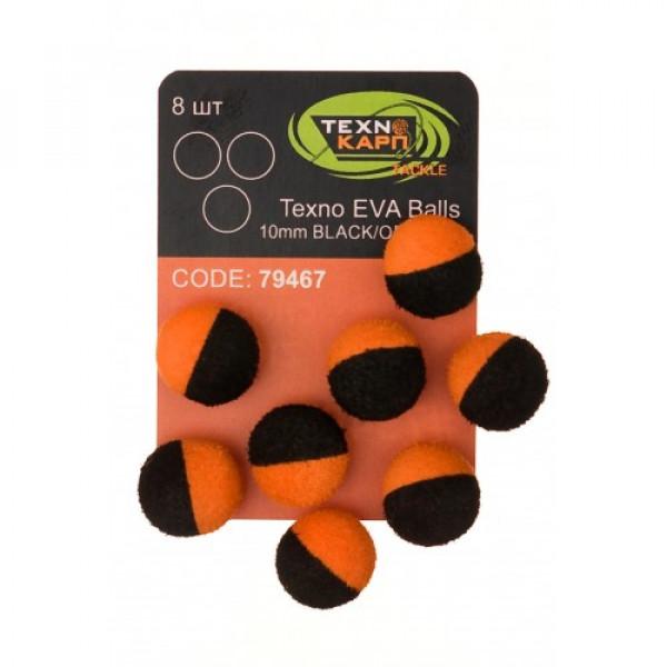 Texno EVA Balls 10mm black/yellow