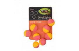 Texno EVA Balls 10mm white/orange thumb