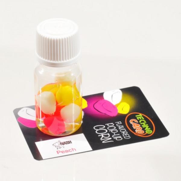 Силиконовая кукуруза pop-up Peach NASH 10mm