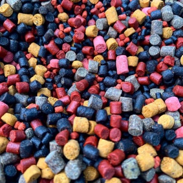 Start Pellets Technocarp MIX 4-6мм (холодная вода) NEW 2кг