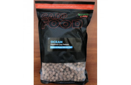 Flavored Carp Pellets Technocarp Ocean NEW d.6mm      thumb