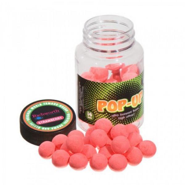 Бойлы Technocarp  Pop-Up Strawberry d.10mm