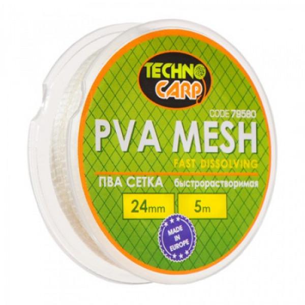 PVA сетка быстрорастворимая NEW 24мм,5м.