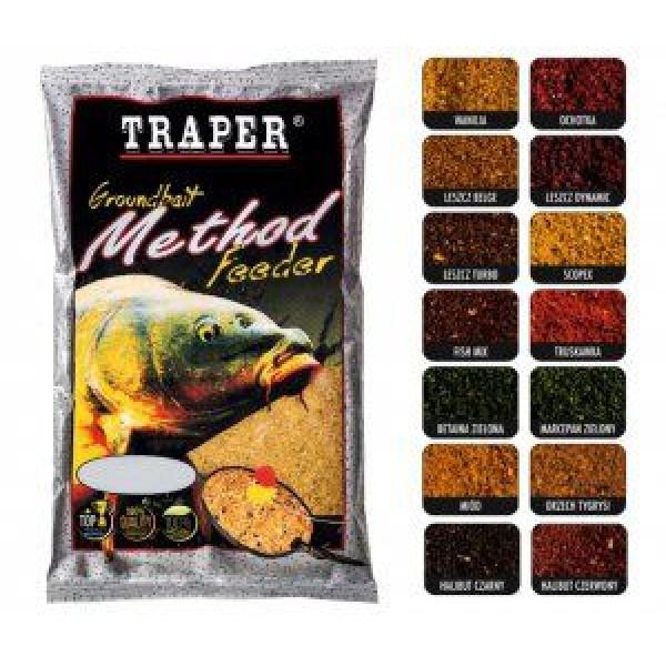 Прикормка Traper Method Feeder увлажненная Leszcz (Лещ)