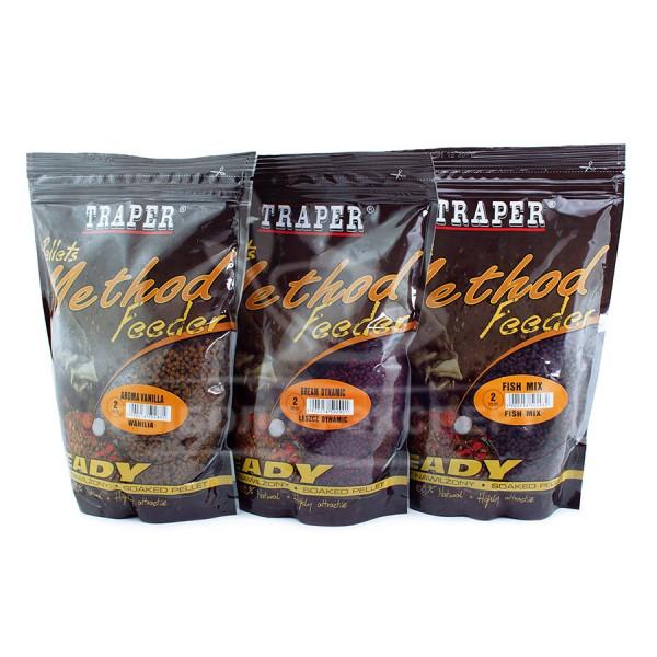Пеллетс Traper Method Feeder увлажненный Ananas(Ананас) 2 mm/500 g