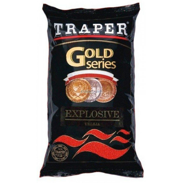 Прикормка Traper gold series Explosive Red (красная)