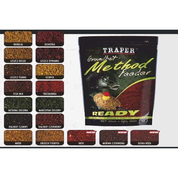 Прикормка Traper Method Feeder увлажненная Pomarańcza / Czekolada (Апельсин / Шоколад)