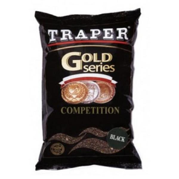 Прикормка Traper gold series Competition Black (черная)