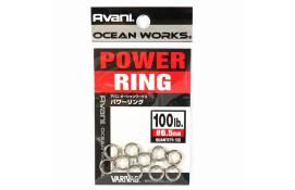 Заводные кольца Varivas 11 OW Power Rings, 100LB thumb