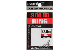 Заводные кольца Varivas 16OW Solid Ring, 3,0mm 48LB thumb