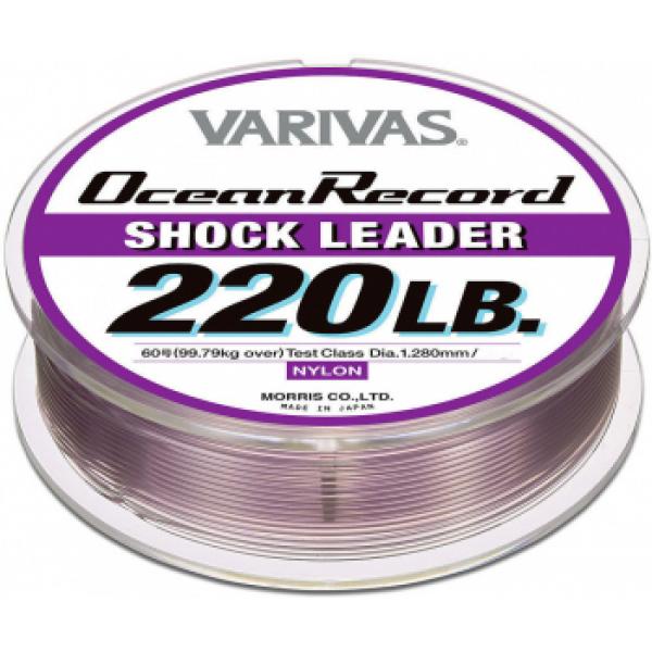 Моношоклидер Varivas Nulon Shock Leader, 50m, 200LB