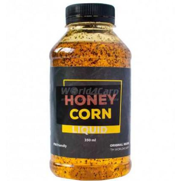 Ликвид для прикормки Honey Corn (мед-кукуруза), 350 ml