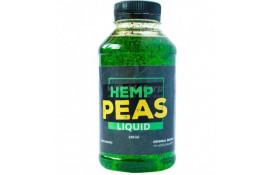 Ликвид для прикормки Hemp & Peas (конопля-горох), 350 ml thumb